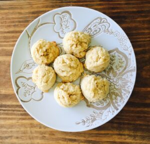 Lemon Cookies Plate